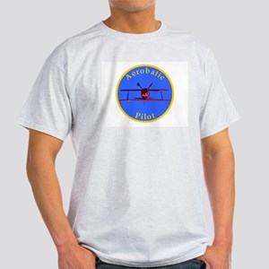 Aerobatic Pilot - Inverted Light T-Shirt