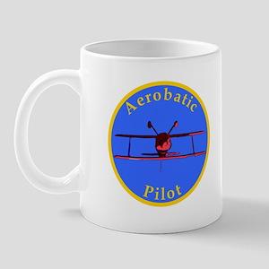 Aerobatic Pilot - Inverted Mug