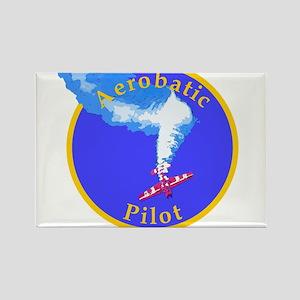 Aerobatic Pilot - Spin Rectangle Magnet