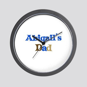 Abigail's Dad Wall Clock