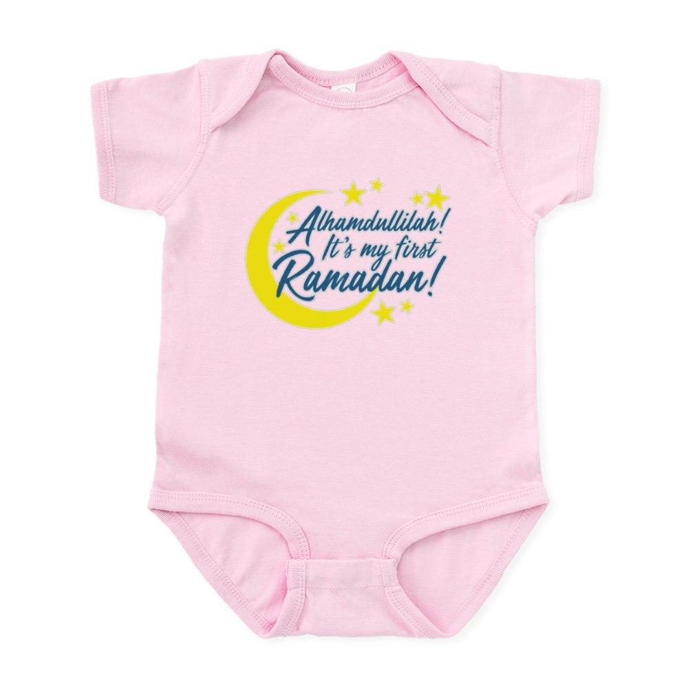 CafePress-It-039-s-My-First-Ramadan-Cute-Infant-Bodysuit-Baby-Romper-227762978 thumbnail 9