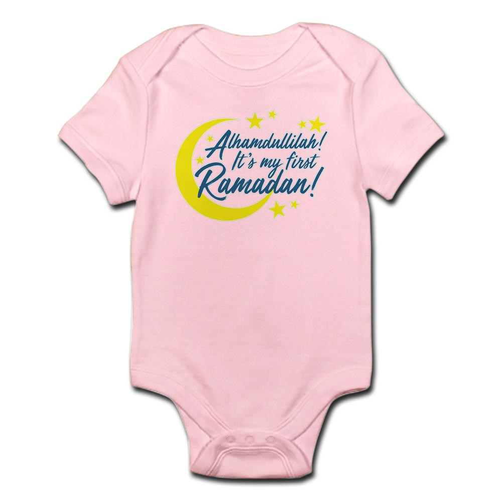 CafePress-It-039-s-My-First-Ramadan-Cute-Infant-Bodysuit-Baby-Romper-227762978 thumbnail 8