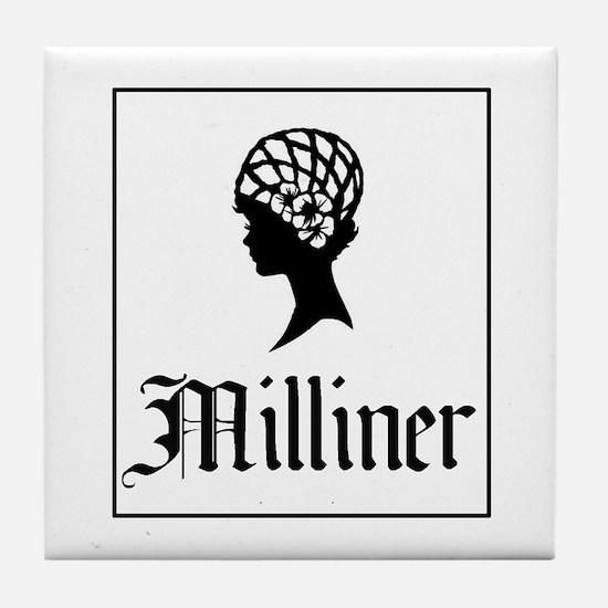Milliner - Hatmaker Tile Coaster