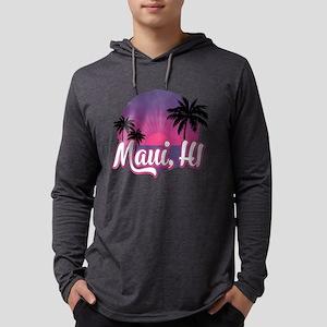 Maui, Hawaii Mens Hooded Shirt