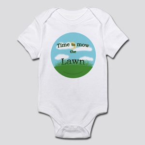 Time to Mow the Lawn Infant Bodysuit