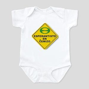 Esperantist in Shirt Infant Bodysuit