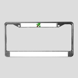 Irish Shillelagh License Plate Frame