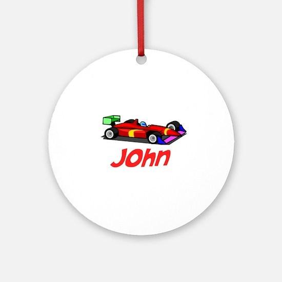 John Ornament (Round)