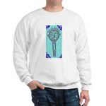 Tennis Racket Sweatshirt (Blue)