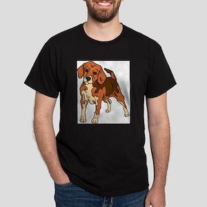 Beagle (Front only) Dark T-Shirt