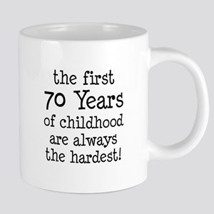 70 Years Childhood Mugs