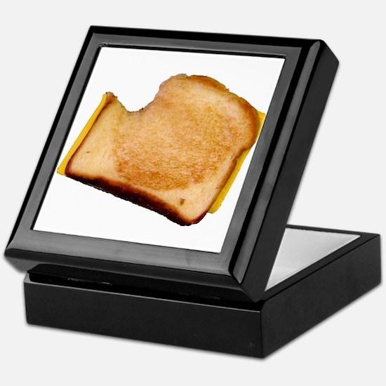 Plain Grilled Cheese Sandwich Keepsake Box