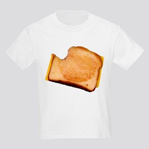 Plain Grilled Cheese Sandwich Kids Light T-Shirt
