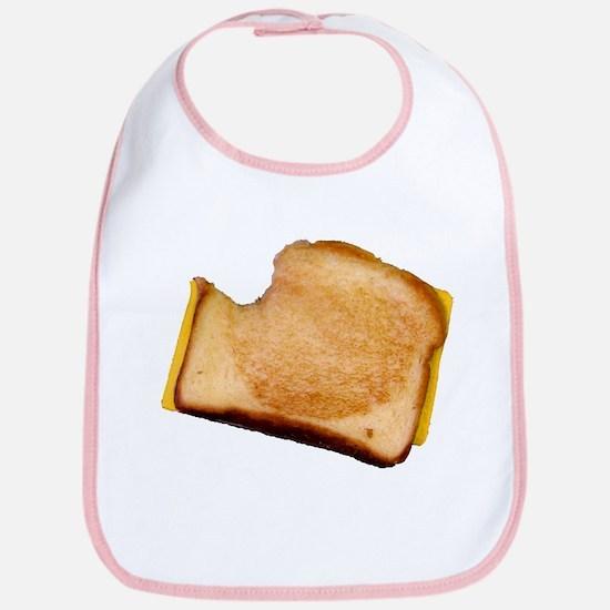 Plain Grilled Cheese Sandwich Bib