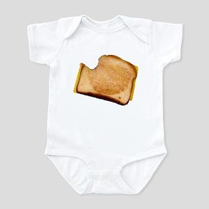Plain Grilled Cheese Sandwich Infant Bodysuit