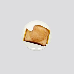 Plain Grilled Cheese Sandwich Mini Button