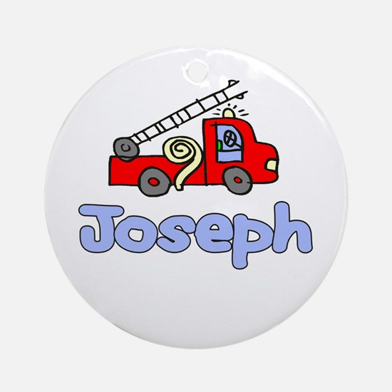 Joseph Ornament (Round)