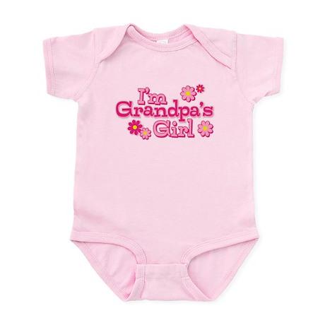 I'm Grandpa's Girl Baby Light Bodysuit