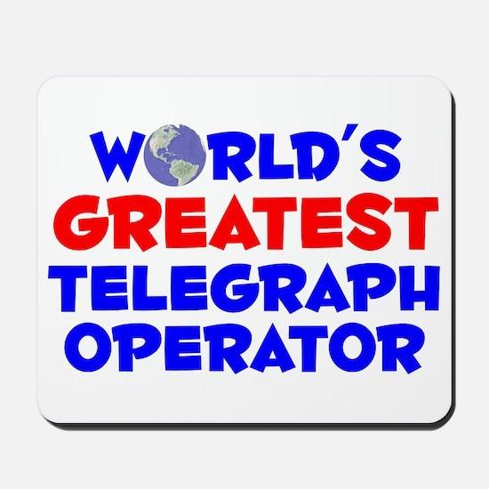 World's Greatest Teleg.. (A) Mousepad