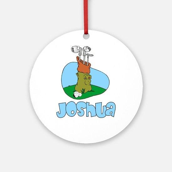 Joshua Ornament (Round)