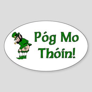 Pog Mo Thoin Oval Sticker
