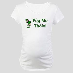 Pog Mo Thoin Maternity T-Shirt