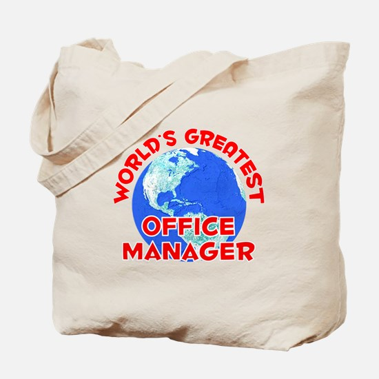 World's Greatest Offic.. (F) Tote Bag