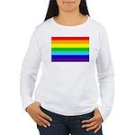 Rainbow Women's Long Sleeve T-Shirt