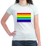 Rainbow Jr. Ringer T-Shirt