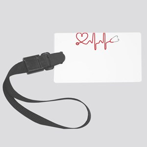 I love Medicine Large Luggage Tag