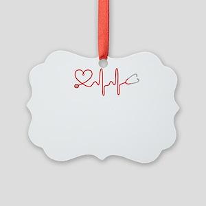 I love Medicine Picture Ornament