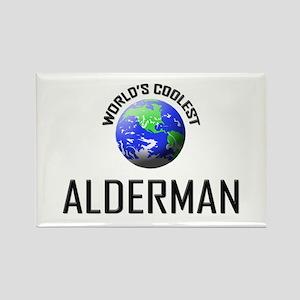 World's Coolest ALDERMAN Rectangle Magnet