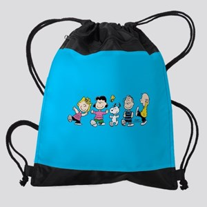 Peanuts Gang Dancing Drawstring Bag