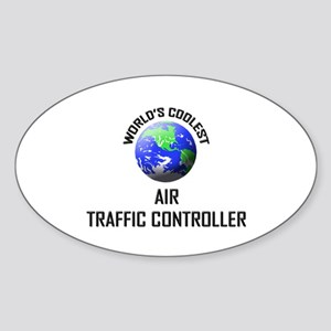 World's Coolest AIR TRAFFIC CONTROLLER Sticker (Ov