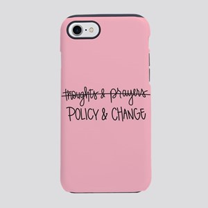 Policy & Change iPhone 8/7 Tough Case