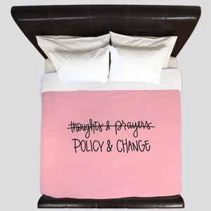Policy & Change King Duvet