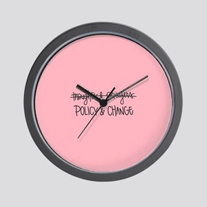 Policy & Change Wall Clock