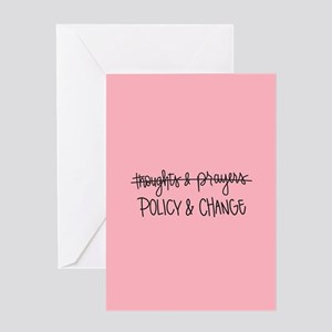 Policy & Change Greeting Card