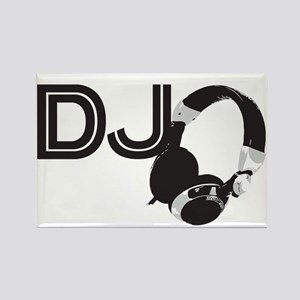 DJ Rectangle Magnet