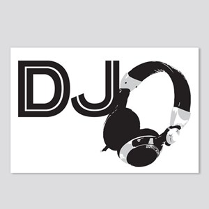 DJ Postcards (Package of 8)