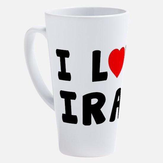 Cute Iranians 17 oz Latte Mug