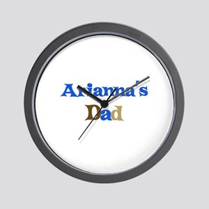 Arianna's Dad Wall Clock