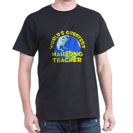 World's Greatest Mahjo.. (D) Dark T-Shirt