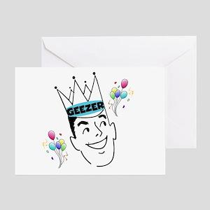 Geezer Birthday Greeting Card