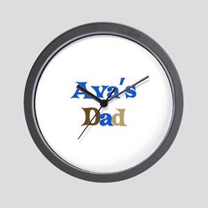 Ava's Dad Wall Clock