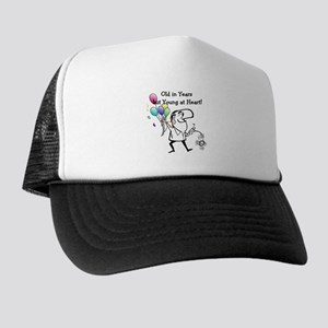 Young at Heart Birthday Trucker Hat