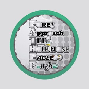 Father/Dad Golf Ball Wall & Desk Gift Ornament