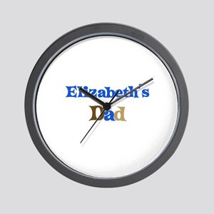 Elizabeth's Dad Wall Clock