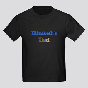 Elizabeth's Dad Kids Dark T-Shirt