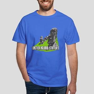 Easter Island Statues Dark T-Shirt